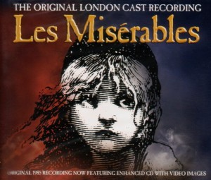 Les Misérables CD cover audio