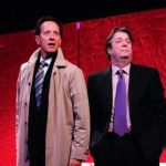 Michael Begley as Eaton Sylvester and Roger Allam as Lambert Le Roux © Clark Nobby