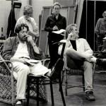 Roger Allam in rehearsals © C. Ashmore