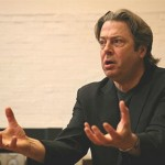 Roger Allam rehearsing for Afterlife © National Theatre