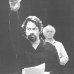Roger Allam rehearsing © John Haynes