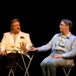 Philip Quast as Georges and Roger Allam as Albin © The Playhouse Theatre