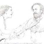 Miranda (Jessie Buckley) and her father, Prospero by Mark Winter - website: chicanepictures.com