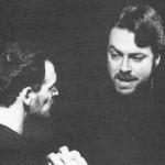 Roger Allam rehearsing © Royal Shakespeare Company