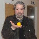 In character as Douglas Richardson for the 'Lemons and Landmarks' project, 2012 (see News)