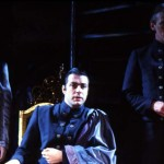 Pennie Downie, Roger Allam and Cliff Burnett © Royal Shakespeare Company