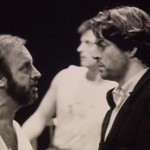 In rehearsals for Les Misérables (1985), opposite Colm Wilkinson. Allam originated the role of Javert and the musical is still going strong almost 30 years later
