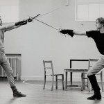 Rehearsals for Romeo and Juliet (RSC, 1984)- Allam played Mercutio