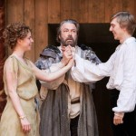 Jessie Buckley, Roger Allam and Joshua James in The Tempest © Marc Brenner