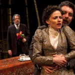 Roger Allam, Lara Pulver and Alexander Hanson in Uncle Vanya © Pete Jones