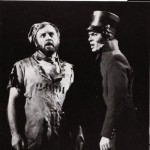 Colm Wilkinson as Jean Valjean and Roger Allam as Javert © Royal Shakespeare Company
