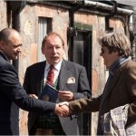Bruce Addison (auctioneer), Charles MacLean (real-life whisky expert) and Roger Allam