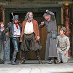 Paul Rider, Sam Crane, Roger Allam, William Gaunt and Oliver Coopersmith in Henry IV part II © John Haynes