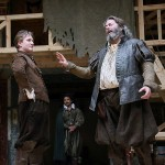 Jamie Parker as Prince Hal and Roger Allam as Falstaff in Henry IV Part I © Heritage American