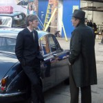Roger Allam and Shaun Evans at Wargrave Autos © Oxford Times
