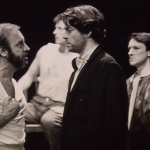 Roger Allam and Colm Wilkinson rehearsing © Royal Shakespeare Company