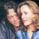 Roger Allam as Adam Penzius and Gillian Anderson as Melinda Metz © What the Night is For