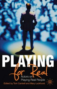 Roger Allam is interviewed in Playing It Real. Actors on Playing Real People
