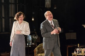 Nancy Carroll and Roger Allam in The Moderate Soprano © Hampstead Theatre / Manuel Harlan, 2015