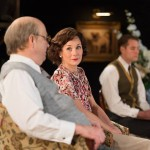 Roger Allam, Nancy Carroll and George Taylor in The Moderate Soprano © Hampstead Theatre / Manuel Harlan