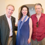 Eric Friesen, Angela Hewitt and Roger Allam © Trasimeno Music Festival