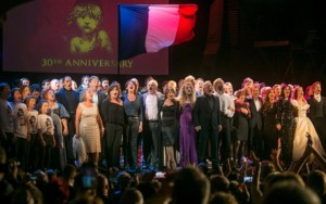 Singing 'One Day More' at the 30th anniversary of Les Misérables © Daniel Leal-Olivas, 2015