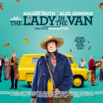 Official poster for The Lady in the Van © BBC Films 2015