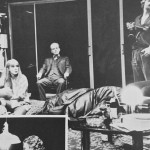 David Threlfall, Kate Buffery, Ian McDiarmid, Malcolm Storry and Roger Allam in The Party © RSC, 1984