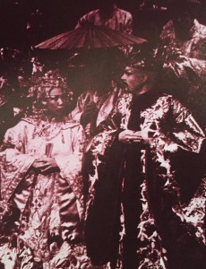 Susan Leong and Roger Allam in Poppy © RSC 1982