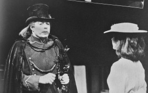 Roger Allam and Cecile Paoli in Dreamplay ©RSC 1985