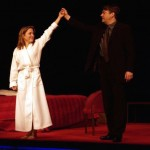 Gillian Anderson and Roger Allam © Comedy Theatre (now Harold Pinter Theatre)
