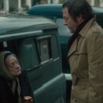 Maggie Smith and Roger Allam in The Lady in the Van © BBC Films
