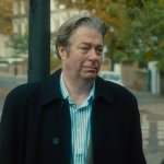 Deborah Findlay and Roger Allam in The Lady in the Van © BBC Films