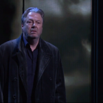 Roger Allam as king Lear for Shakespeare Live! © RSC and BBC2, 2016