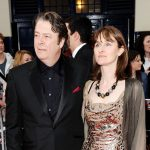 Roger Allam and Rebecca Saire on the red carpet at the 2011 Oliver Awards © Ian Gavan 2011