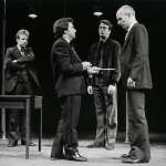 David Whitaker, Anthony O'Donnell, Roger Allam and Andrew Jarvis © Donald Cooper