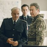 Bernard Schultz, Florian Bartholomai and Roger Allam © BBC/New Pictures/Sophie Mutevelian