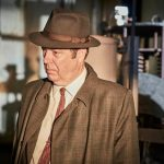 Roger Allam as Fred Thursday in Endeavour © ITV 2017