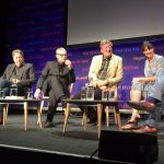 The Hippopotamus screening plus Q&A at Hay Festival @HippotheMovie, 2017