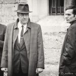 Lewis Peek, Roger Allam and Shaun Evans on the set of Endeavour series V © Natalia Kutsepova, September 2017