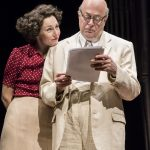 Nancy Carroll and Roger Allam in The Moderate Soprano at the Duke of York's Theatre © Johan Perrson, 2018