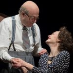 Nancy Carroll and Roger Allam in The Moderate Soprano at the Duke of York's Theatre © Alastair Muir 2018
