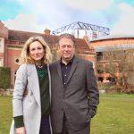 Nancy Carroll and Roger Allam visit Glyndebourne © Piers Foley 2018