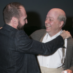 Ralph Fiennes and Roger Allam at The Moderate Soprano press night © Dave Benett 2018Ralph Fiennes and Roger Allam at The Moderate Soprano press night © Dave Benett 2018