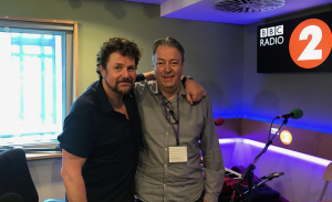 Michael Ball and Roger Allam © The Michael ball Show, 2018.