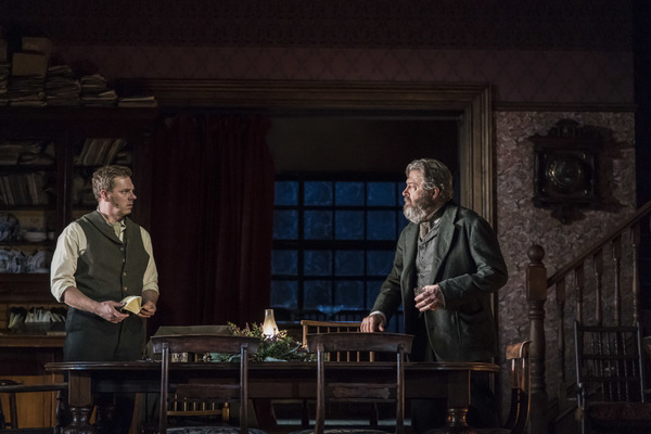 Roger Allam and Joe Armstrong © National Theatre & Johan Persson