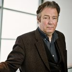 Roger Allam photographed at the Endeavour series two preview, 2014 © Sarah Lee