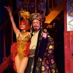 Roger Allam as Abbanazar in Aladdin © The Old Vic