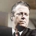 Roger Allam as Willy Brandt in Democracy © National Theatre
