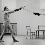 Roger Allam rehearsing © Donald Cooper